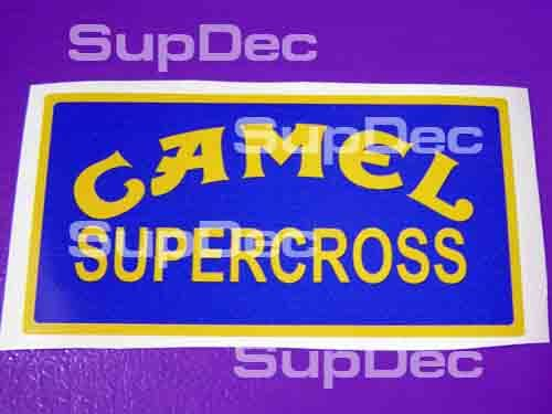 Honda Camel supercross  Tank Decal Sticker