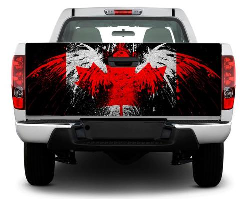 Canada flag bird Tailgate Decal Sticker Wrap Pick-up Truck SUV Car