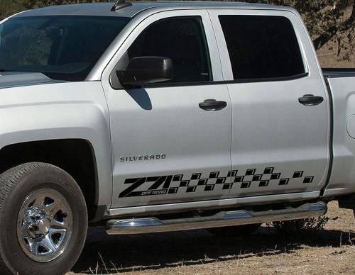 Chevrolet-Silverado-Z71-side-stripes-graphics-decal-door-panel-decal-black-vinyl-