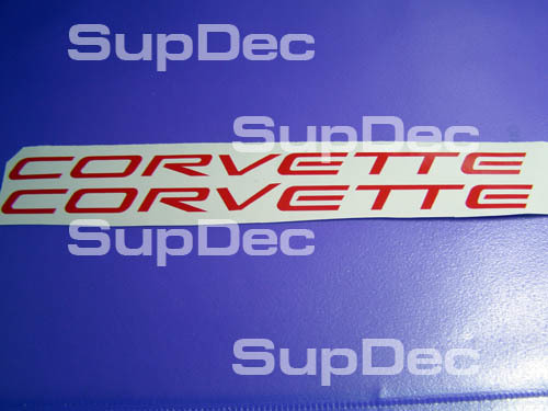 CORVETTE 2 Aufkleber