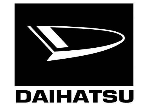 DAIHATSU DECAL 2015 Self adhesive vinyl Sticker Decal