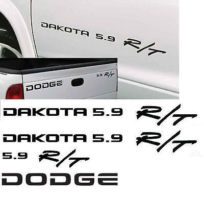 DODGE DAKOTA 5.9 R/T decals RT 4x4