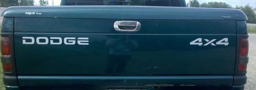 Dodge Ram Dakota Off Road Heckklappe 2500 1500 Aufkleber Aufkleber1