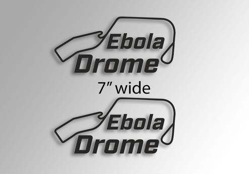 Eboladrome The Grand Tour jeremy clarkson james may and richard hammond new show logo window side decal sticker vinyl