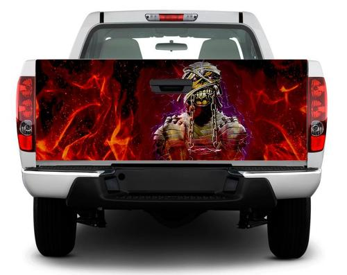 Eddie the 'Ead Edward Iron Maiden Tailgate Decal Sticker Wrap Pickup Truck SUV