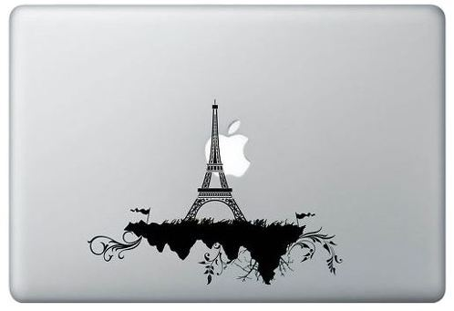 Effel Tour and Apple MacBook Decal