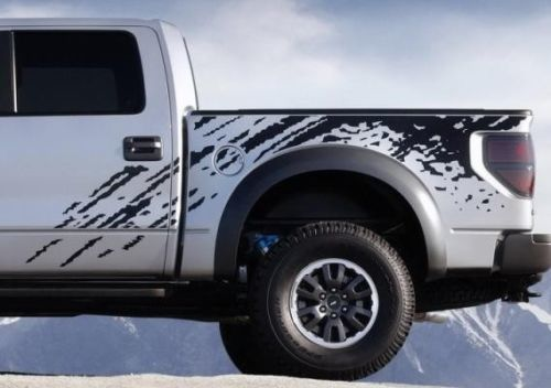 F-150 FORD RAPTOR SVT DIGITAL MUD SPLASH DECAL GRAPHICS DECALS STICKERS CHATTER