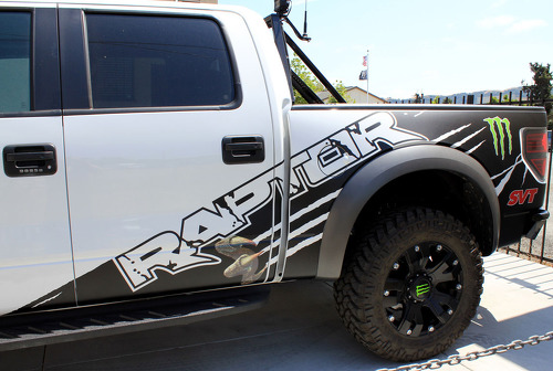 F-150 FORD RAPTOR SVT MONSTER Edition DIGITAL MUD SPLASH DECAL GRAPHICS DECALS STICKERS CHATTER
