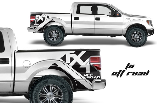F-150 FORD RAPTOR SVT DIGITAL Off road MUD SPLASH DECAL GRAPHICS DECALS STICKERS CHATTER