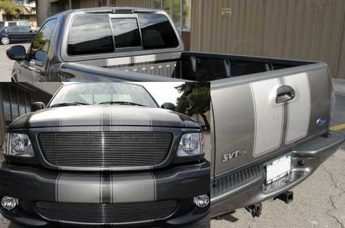 F-150 FORD RAPTOR SVT Ford F-150 Racing Stripes DECAL GRAPHICS DECALS STICKERS CHATTER