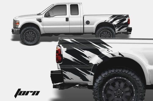 F-150 FORD RAPTOR SVT DIGITAL MUD SPLASH DECAL GRAPHICS DECALS STICKERS CHATTER-1