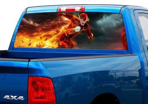 Flash DC Comics Filme Heckscheibe Aufkleber Aufkleber Pick-up Truck SUV Auto # 1