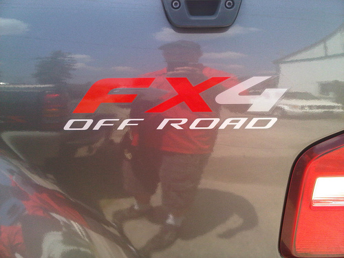 2 Ford F150 Ranger FX4 Offroad LKW Vinyl Aufkleber Aufkleber