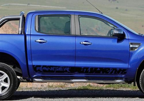 Ford Ranger Logo wild side stripe graphics decal sticker
