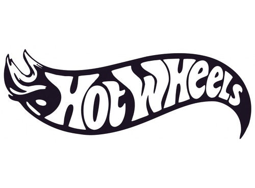 HOT WHEELS 0958 Self adhesive vinyl Sticker Decal