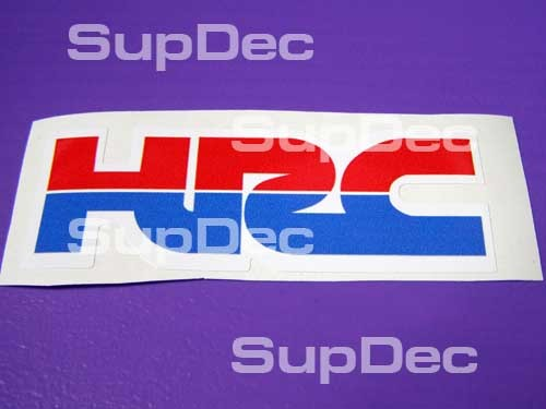 Honda OEM ORIGINAL HRC 2(two) Decals