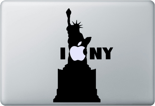 I-love-NY-New-York-decal-sticker-macbook-apple