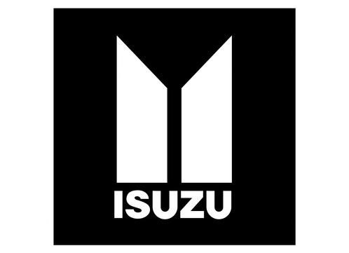 ISUZU 1 DECAL 2028 Selbstklebender Vinyl-Aufkleber