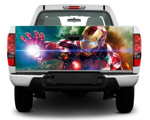 Iron Man Art Marvel Tailgate Decal Sticker Wrap Pick-up Truck SUV Car
