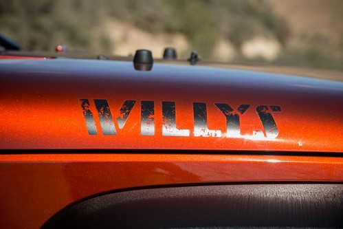 Jeep WILLYZ Distressed Wrangler Unlimited CJ TJ YK JK XJ All Colors Sticker Decal
