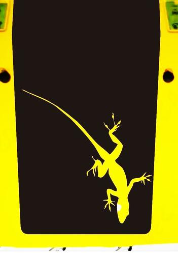 Jeep Hood Decal Gecko  Wrangler Large Blackout Hood Vinyl Rubicon Sahara JK LJ TJ Lizard