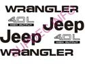 JEEP set WRANGLER set and 4.0L set