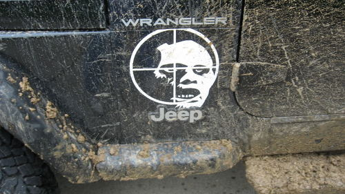 Jeep Rubicon Zombie kill Wrangler Hood Decal Sticker
