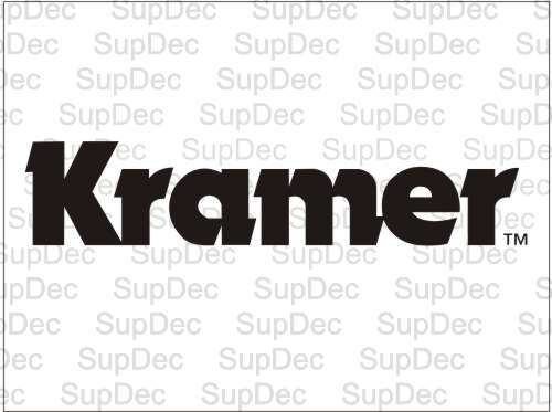 Kramer decal sticker