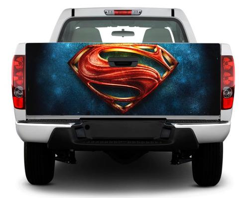 LOGO Superman Tailgate Decal Sticker Wrap Pick-up Truck SUV Car
