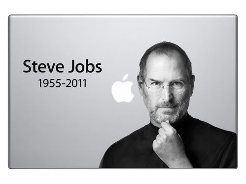 Steve Jobs RIP Memorabilia for MacBook-Pro Decal Sticker #2
