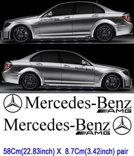 Category amg mercedes benz decals sticker for Mercedes benz decal