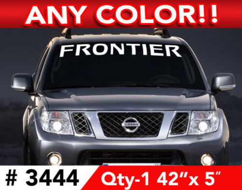 NISSAN FRONTIER WINDSHIELD DECAL STICKER 42