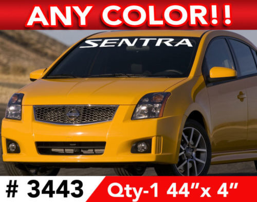 NISSAN SENTRA WINDSHIELD DECAL STICKER 42