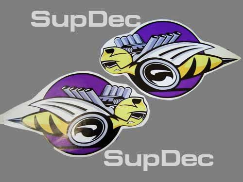 Dodge RUMBLE BEE Vinyl 2 Decals Stickers