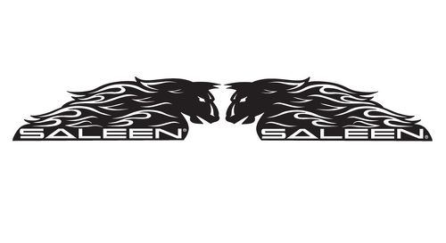 Saleen Mustang Decal Sticker