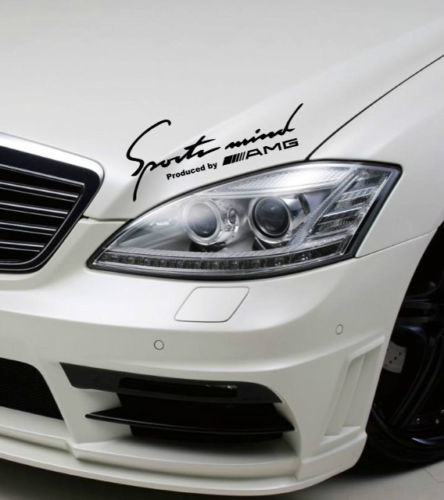 2 Sports Mind Produced by AMG Mercedes Benz clk63 Decal