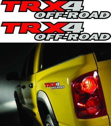 Trx Truck X Decals Sticker Decal Dakota on 2010 Dodge Dakota Trx4