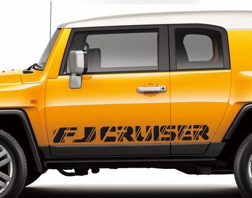 Toyota-FJ-Cruiser-TRD-sport-side-stripe-graphics-decal-Wild-Style-