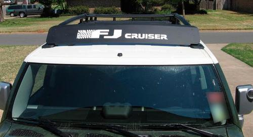 Toyota FJ Cruiser the tires Decal Sticker