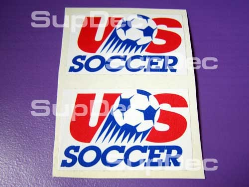 US SOCCER FEDERATION 2 DECALS STICKERS