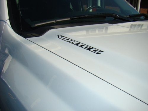 2 VORTEC Hood Aufkleber Aufkleber Emblem Chevy Silverado GMC Sierra Avalanche-1