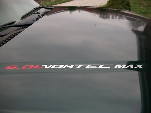 2 VORTEC MAX 6.0L Chevy Silverado GMC Sierra HD SS Decal