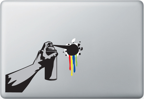 Wake Up Make Art Apple Macbook Decal Sticker