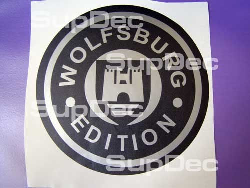 WOLFSBURG VW STICKERS DECAL BUMPER WINDOW STICKER