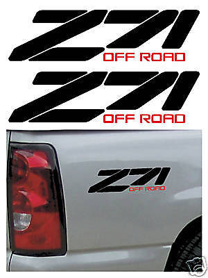 CHEVY, CHEVROLET Z71 OFFROAD DECALS STICKERS, REPLACEMENTS, TRUCK, 4X4
