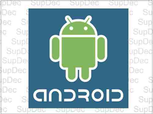 Android Color Car Decals Sticker #2