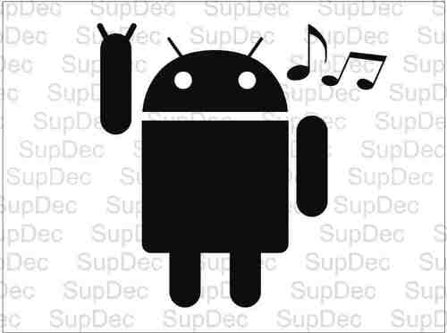 android listening to music