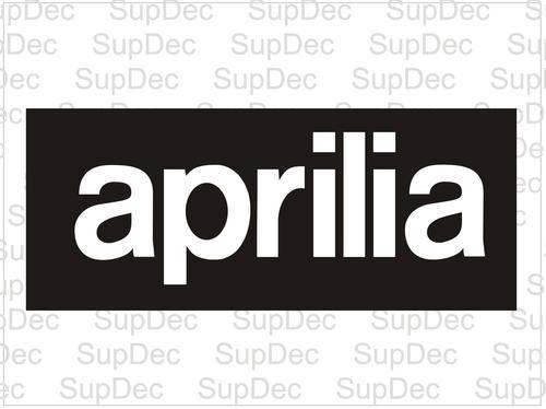 Aprilia decals stickers