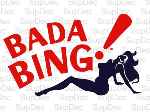 Bada Bing decal