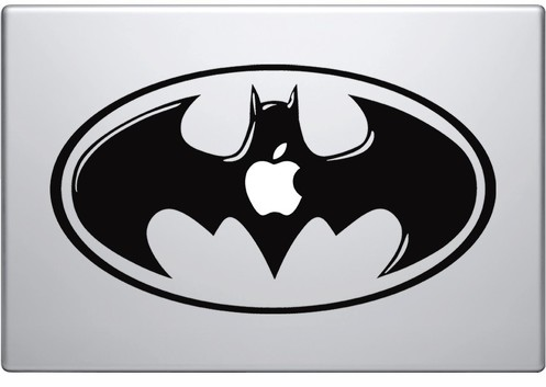 Apple Batman macbook decal sticker